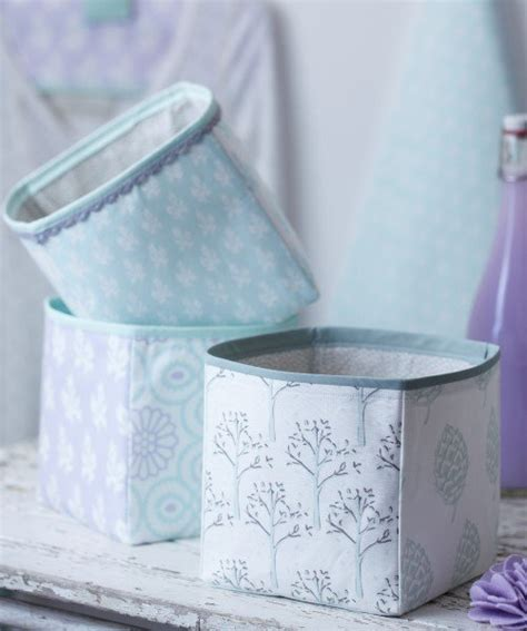 pattern for fabric boxes fabric storage cube