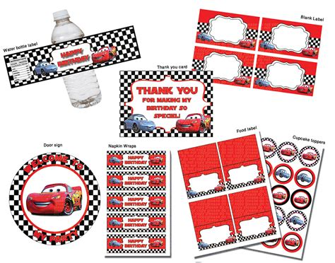 printable cars birthday decorations disney cars printable kids coloring europe travel