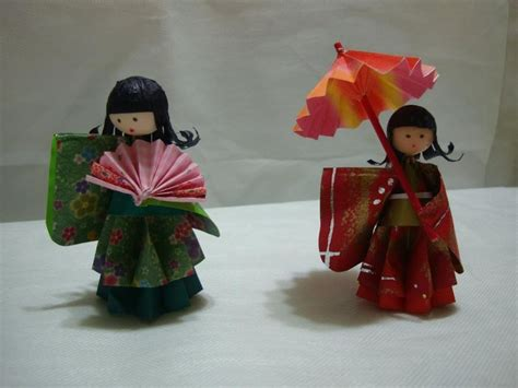 Origami Japanese Doll - 468 best munecas de origami images on origami
