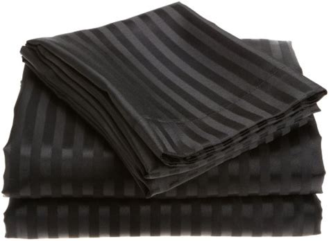 Royal Opulence divatex home fashions royal opulence woven satin stripe sheet s