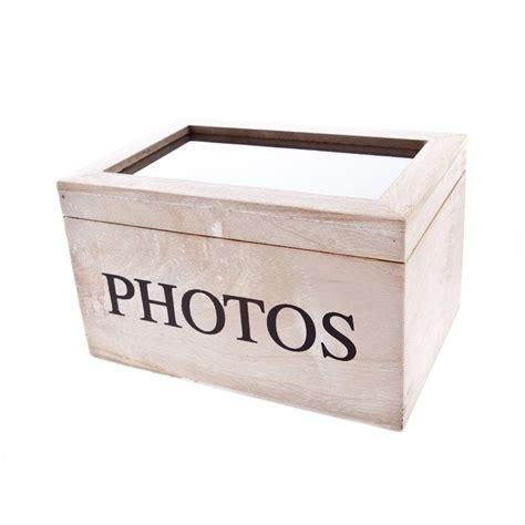 photo storage box wooden photo album box by gisela graham mollie fred