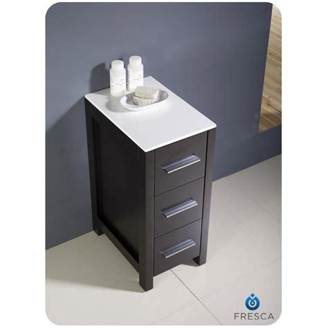 bathroom linen cabinets espresso fresca torino 12 quot espresso bathroom linen side cabinet