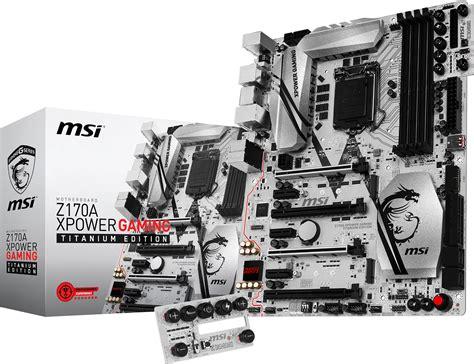Msi Z170a Mpower Gaming Titanium Edition Lga1151 Z170a Ddr4 msi unveils ultimate z170a xpower gaming titanium mainboard kitguru