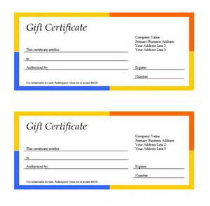 gift certificate template word 2007 free gift certificate template word 2007