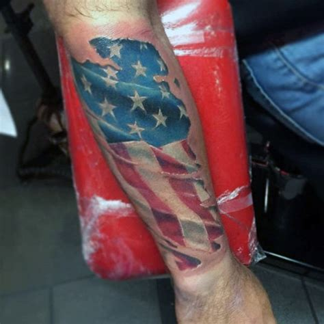 american flag forearm tattoo american flag forearm designs ideas and meaning