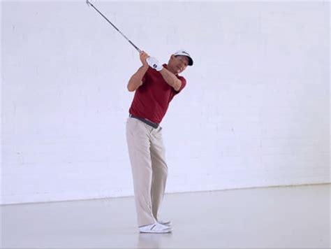 keys to golf swing watch full swing keys hank haney stay in posture to hit