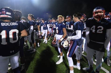 north coast section football colindo rolls past ukiah and into section final