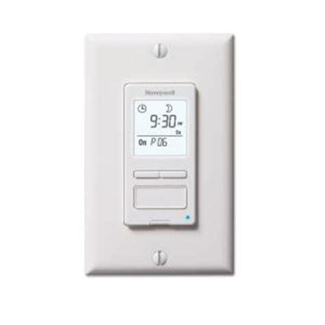 bathroom fan timer switch home depot honeywell econoswitch 120 volt 7 day program in wall solar digital timer switch