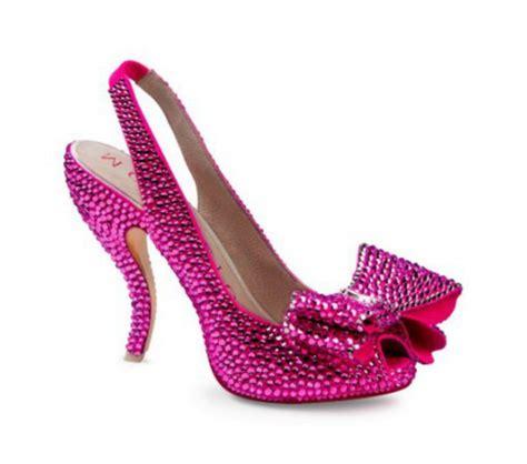 shoes pink shoes swarovski shoes