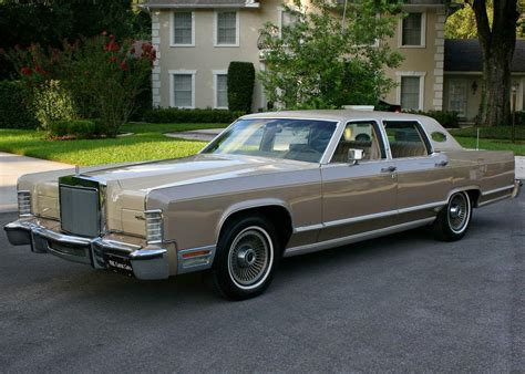 Town Car by All American Classic Cars 1978 Lincoln Continental Town