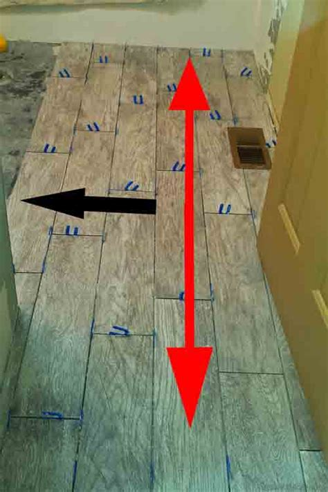 Installing Wood Look Tile More Tips For Installing Wood Look Tile Flooring Diytileguy