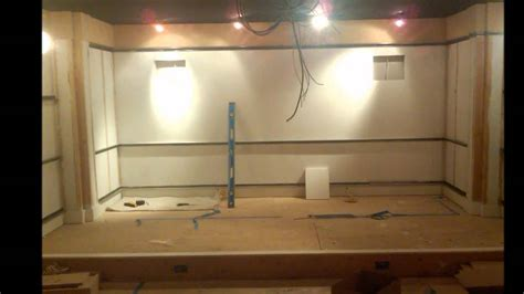 home theater construction youtube
