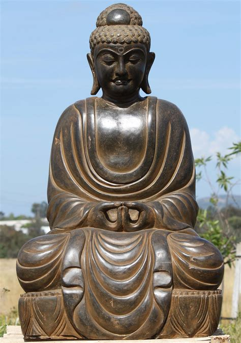 buddha statues or sculptures buddhist statue and hindu stone meditating japanese buddha statue 43 quot 96ls330