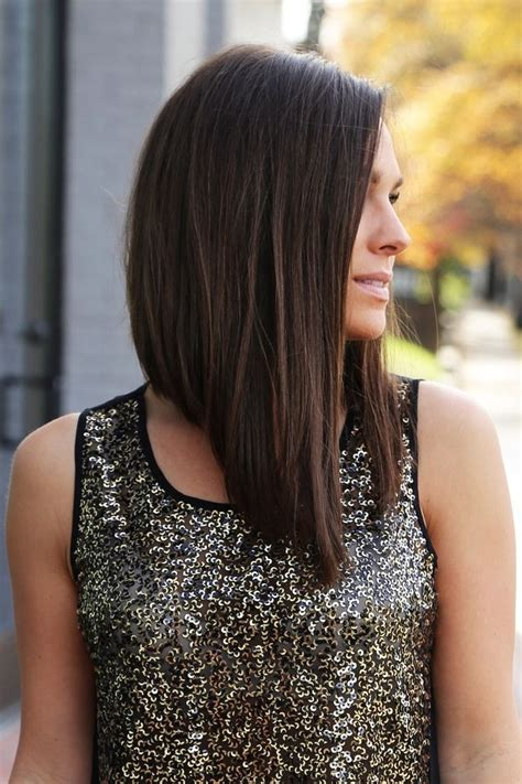 modern womens hair styles longer in the front shorter in the back long angled bob hairstyles fade haircut