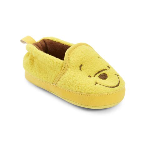pooh slippers disney winnie the pooh baby toddler slipper bootie