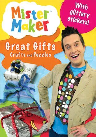 mister maker crafts for who read mister maker great gifts crafts and