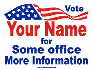 yard sign design template political and election yard signs templates a g e graphics