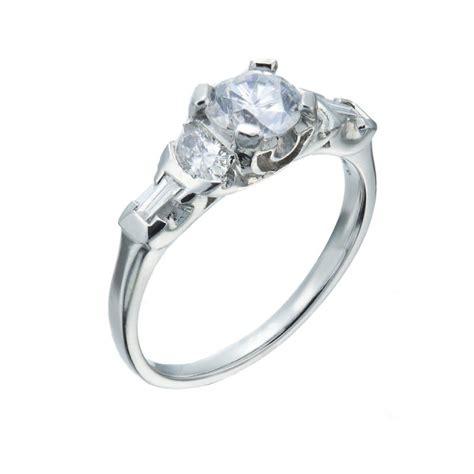 vintage engagement rings chicago christopher duquet