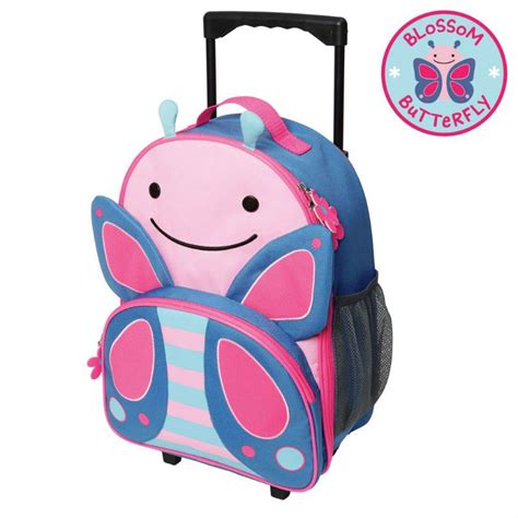 Skip Hop Zoo Luggage Kid Rolling Luggage Giraffe skip hop zoo butterfly travel rolling luggage