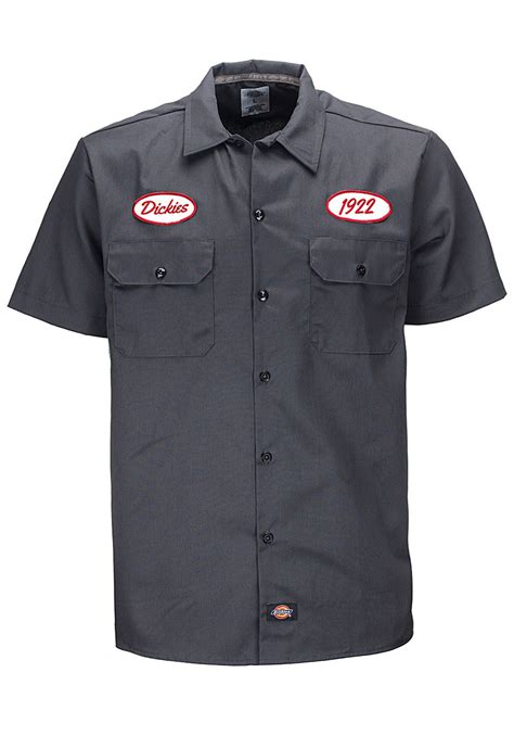 Dickies Garage Shirt by Dickies Rotonda South Garage Rockabilly Workshirt Ebay