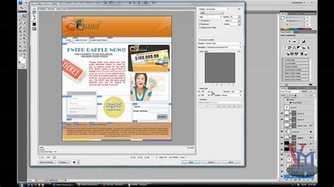 web design layout dreamweaver web slices tutorial making a dreamweaver layout ps dw