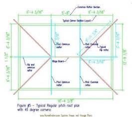 roof design plans hip roof framing figure 5