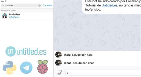 membuat bot telegram dengan python bot telegram con python