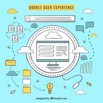 doodle user account premium web templates vectors by freepik thousands of