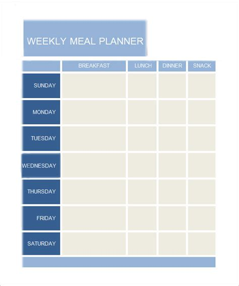 meal plan template word daily planner template 7 documents in pdf word