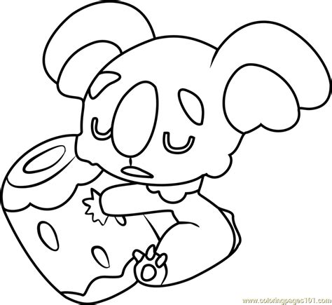 coloring pages pokemon sun and moon nekkoara pokemon sun and moon coloring page free pok 233 mon