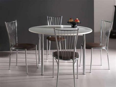 table cuisine ronde blanche table de cuisine ronde comment la choisir