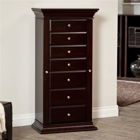 jewelry armoire espresso 34 best jewelry chests cabinets images on pinterest