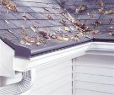 decorating with leaf guards what is the best gutter protection product