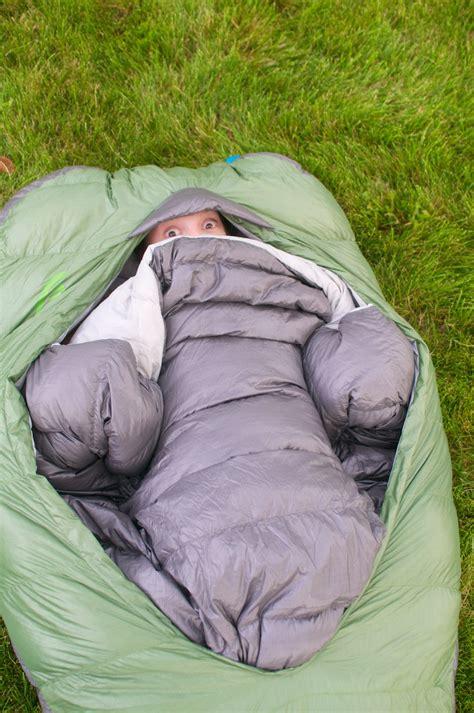 sierra designs backcountry bed not a mummy zipper less design offers new sleeping bag
