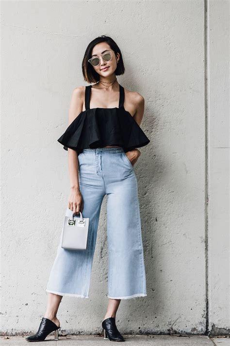 Cut Culottes Kulot Wanita Zara 48 best chriselle lim images on best fashion