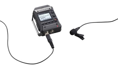 zoom sound zoom f1 tiny recorder for lavaliers and shotgun mics