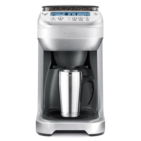 Breville Coffee Maker breville youbrew thermal carafe coffee maker with conical burr grinder cutleryandmore