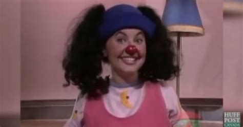 big comfy couch girls name loonette the clown now alyson court is more famous than