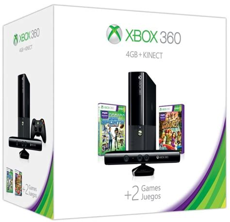 xbox 360 4gb console 2013 xbox 360 4gb console with kinect bundle for xbox