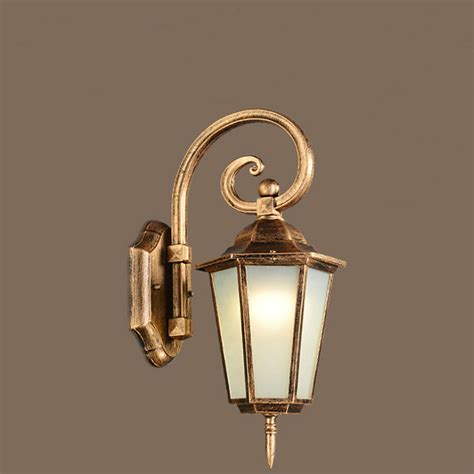 retro outdoor light fixtures european led wall l outdoor wall sconces lighting