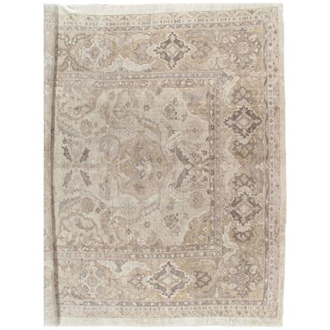 rugs tn antique sultanabad carpet handmade rug neutral tn wool carpet for sale at 1stdibs