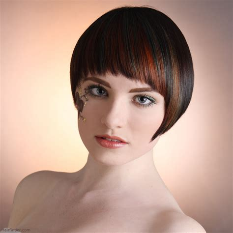 streaked hair color short hair with color streaks short hairstyles