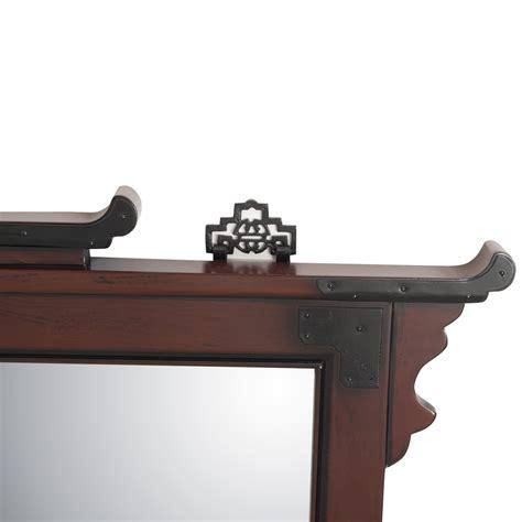japanisches design wandspiegel mit holzrahmen japanisches design