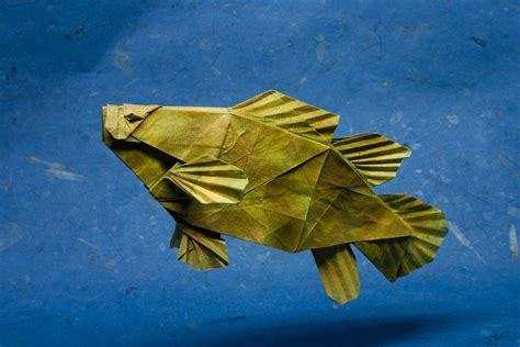 Paper Origami Fish - 25 excellent origami fish just for the halibut
