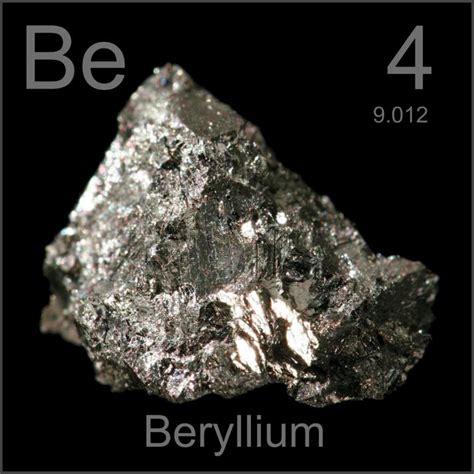 sle of the element beryllium in the periodic table