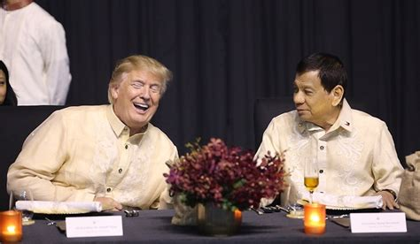 trump duterte focus gala glitz masks asia s tensions as trump winds up