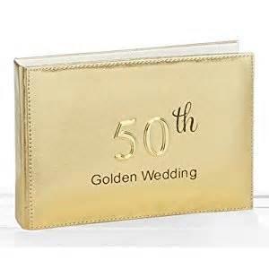 50th wedding anniversary photo album golden 50th wedding anniversary photo album 4x6 holds 24 pictures co uk kitchen home