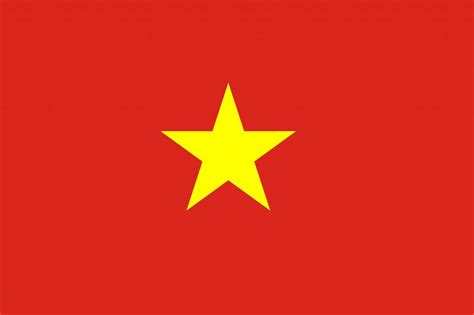 vietnam flag coloring country flags