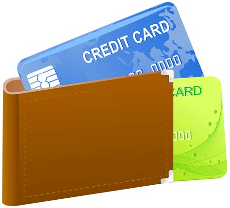 Credit Card Template Png wallet with credit cards png clipart image gallery
