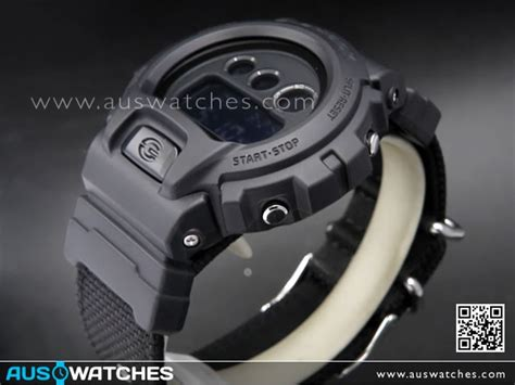 Gshock Dw 6900 Bbn 1dr buy casio g shock black cordura band sport